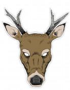 Masque papier cartonné Renne