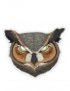 Masque papier cartonné Hibou