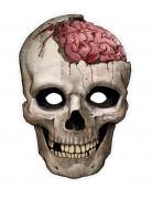Masque papier crâne
