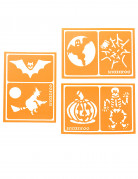 6 Pochoirs mixte Snazaroo™ Halloween
