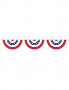 Guirlande rosaces USA 3.66 mètres
