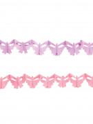 2 Mini guirlandes papillon 2 m