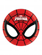 8 Petites assiettes en carton Ultimate Spiderman™