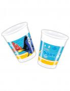 8 Gobelets en plastique Dory™ 200 ml