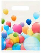 6 Sac cadeaux ballons volants