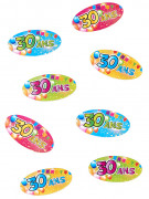 Confettis de table 30 ans Anniversaire Fiesta