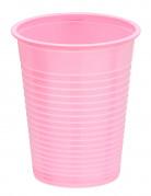 50 Gobelets en plastique rose 20 cl