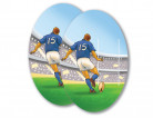 Cut-out rugby 30x40 cm