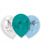 6 Ballons latex La Reine des Neiges™