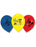 6 Ballons en latex Mickey Mouse™