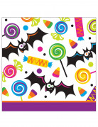 16 Petites serviettesen papier Trick or Treat Halloween 25 cm