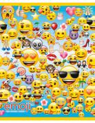 8 Sacs cadeaux en plastique Emoji™ 18 x 23 cm