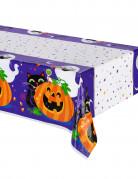 Nappe en plastique citrouille et compagnie Halloween 213 X 137 cm