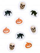 Confettis de table papier halloween