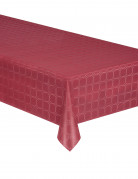 Nappe en rouleau papier damassé marsala 6 mètres