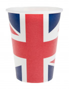 10 Gobelets en carton Royaume-Uni