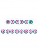 Guirlande Happy Birthday Make Up - 3 mètres