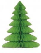 Sapin de Noël en papier alvéolé 30 cm