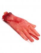 Main coupée ensanglantée Halloween