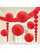 Kit de décorations rouges