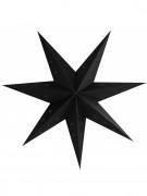 Lanterne étoile noire 70 cm