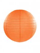 Lanterne japonaise orange 35 cm
