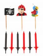 15 Bougies d'anniversaire Pirate