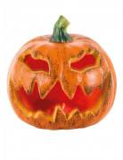 Décoration lumineuse citrouille Halloween 16 cm