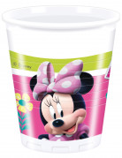 8 Gobelets en plastique Minnie Happy™ 200 ml