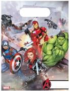 6 Sacs de fête Avengers Mighty™ 16 x 23 cm