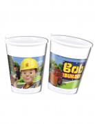 8 Gobelets en plastique 20cl Bob the builder™