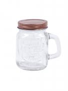 4 Mini bocaux en verre