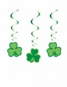 3 Décorations à suspendre Trèfles Saint Patrick 66 cm