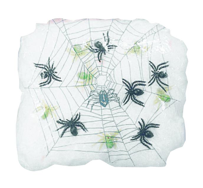 toile d 39 araign e halloween 90g d coration anniversaire et. Black Bedroom Furniture Sets. Home Design Ideas
