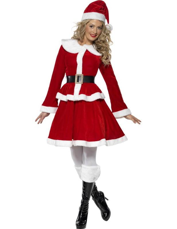 Ensemble Mere Noel Déguisement Mère Noël ensemble femme, décoration anniversaire et