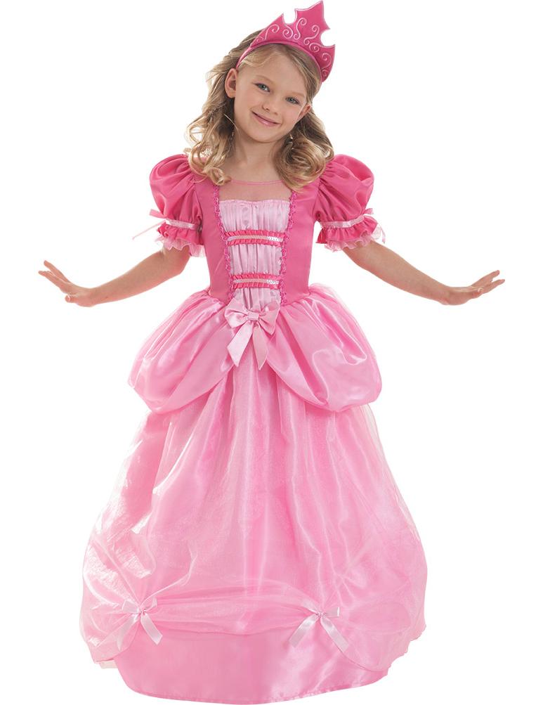 Deguisement Corolle Princesse Rose Fille Decoration Anniversaire