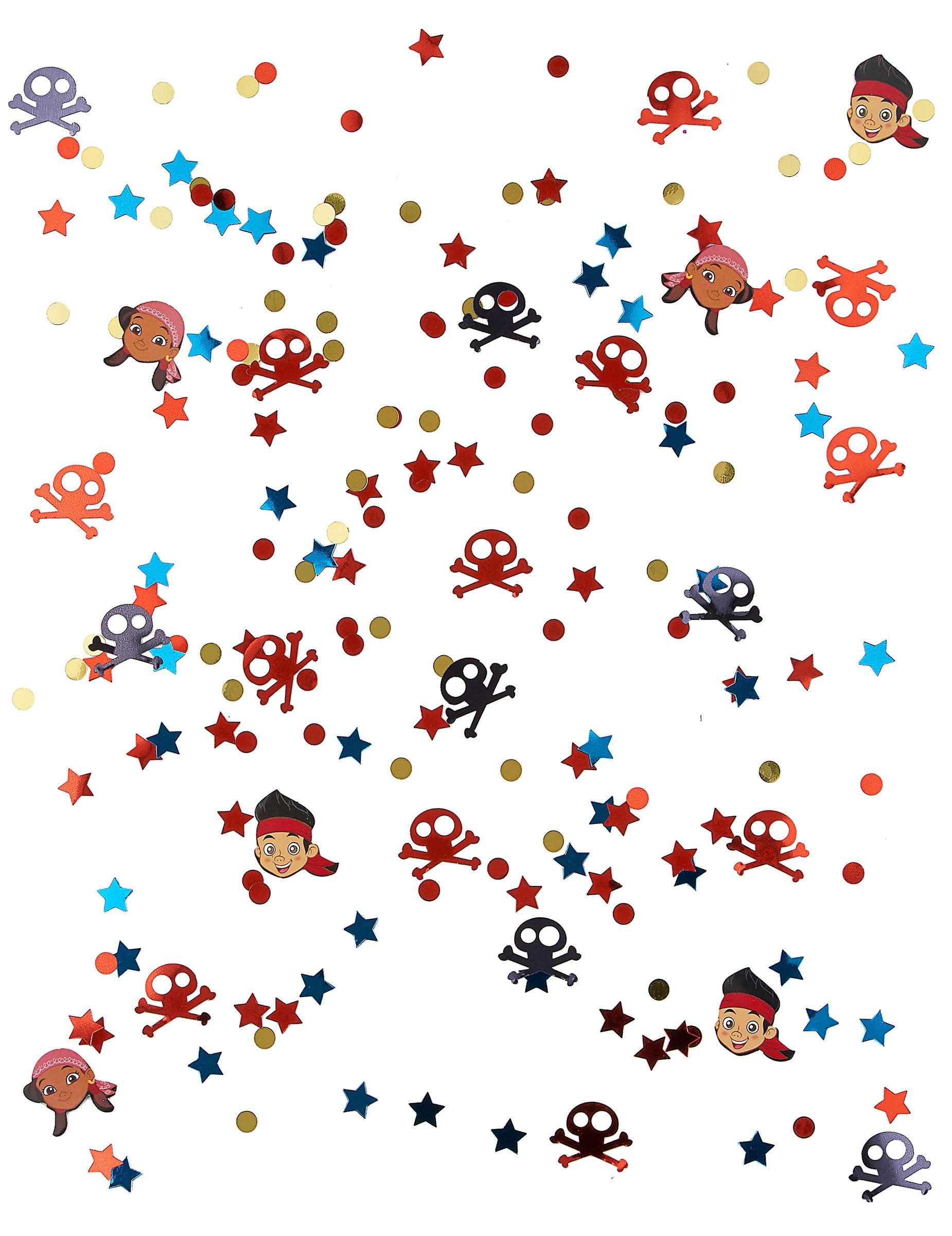 Confettis jake et les pirates d coration anniversaire et - Jake et les pirates ...