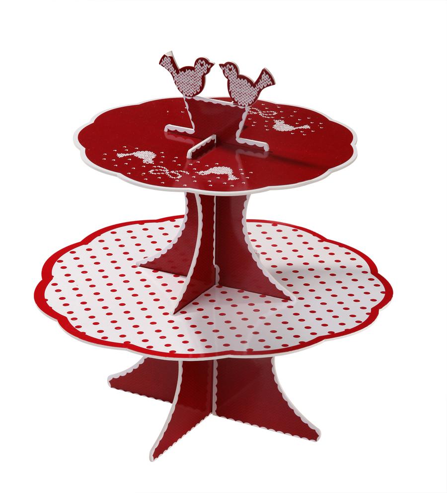 support gateaux chalet de no l d coration anniversaire et f tes th me sur vegaoo party. Black Bedroom Furniture Sets. Home Design Ideas