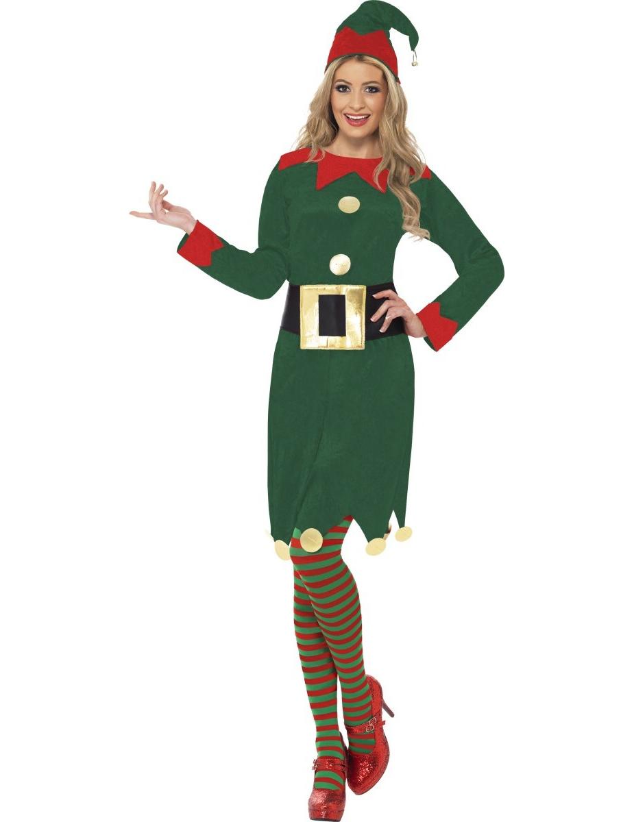 eac0e15d912 Déguisement elfe femme Noël