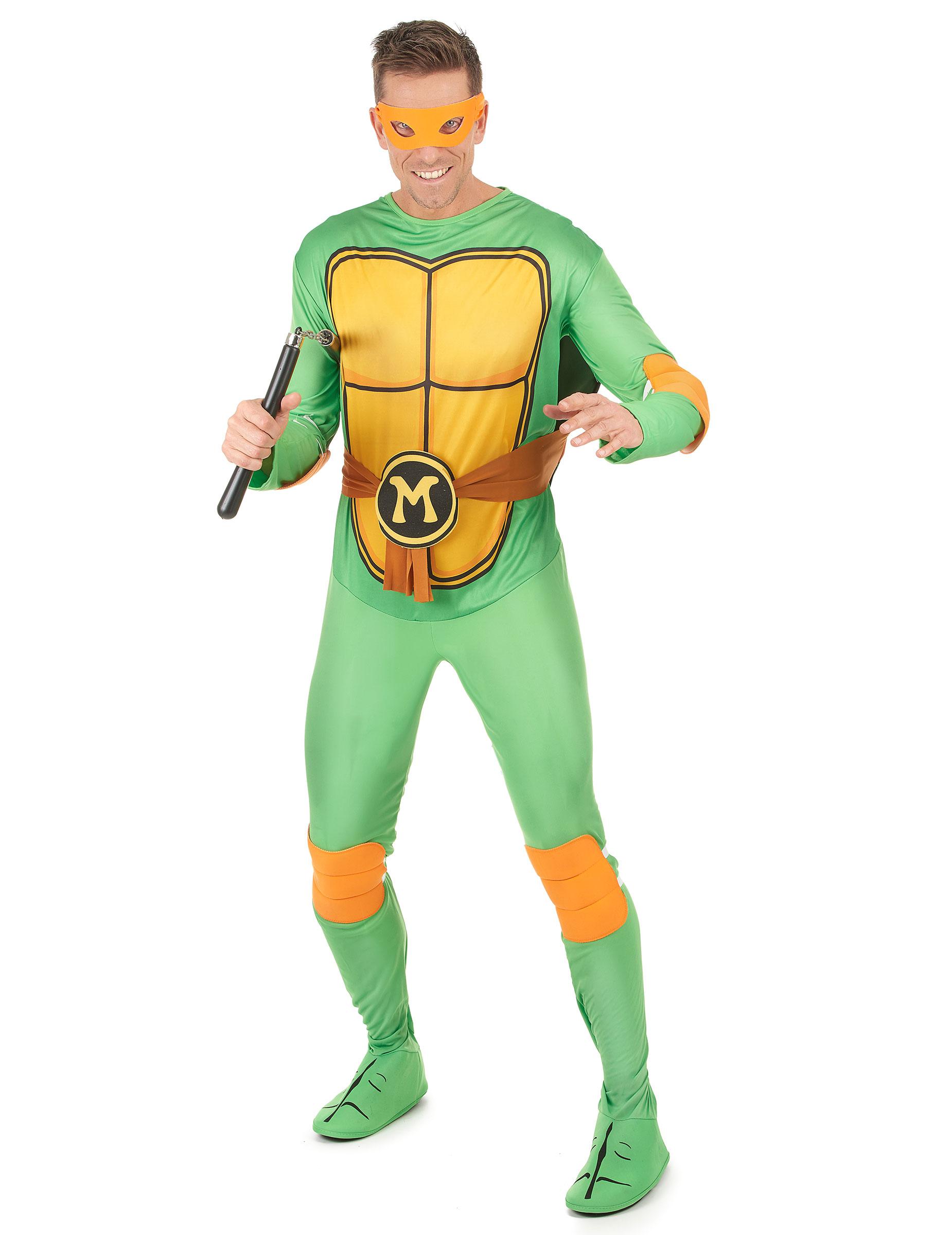 D guisement michelangelo tortues ninja adulte - Tortues ninja michelangelo ...