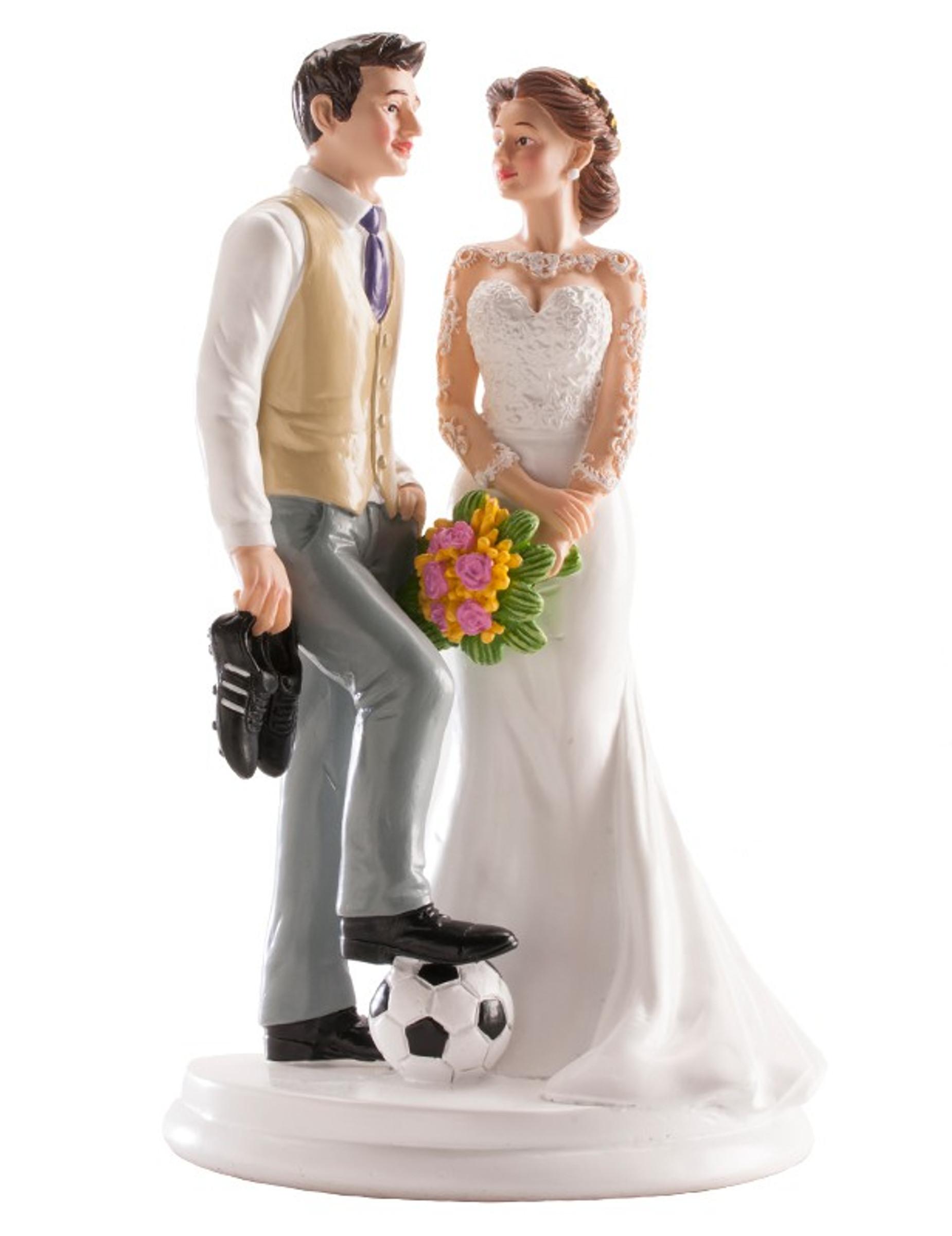 Figurine Mariage Couple Humoristique Decoration Anniversaire Et Fetes A Theme Sur Vegaoo Party