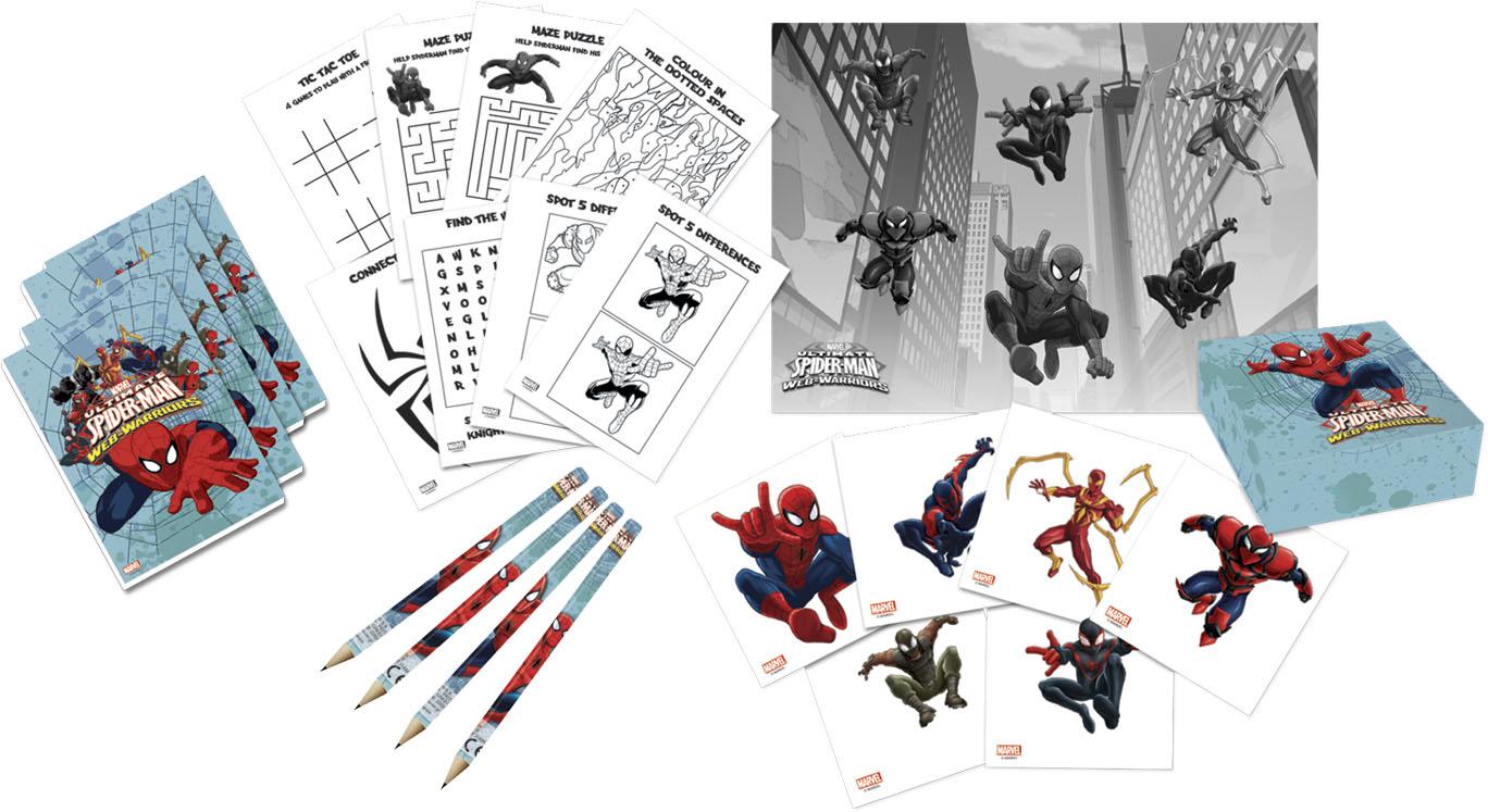 Kit dessin anniversaire spiderman d coration - Decoration spiderman pour anniversaire ...