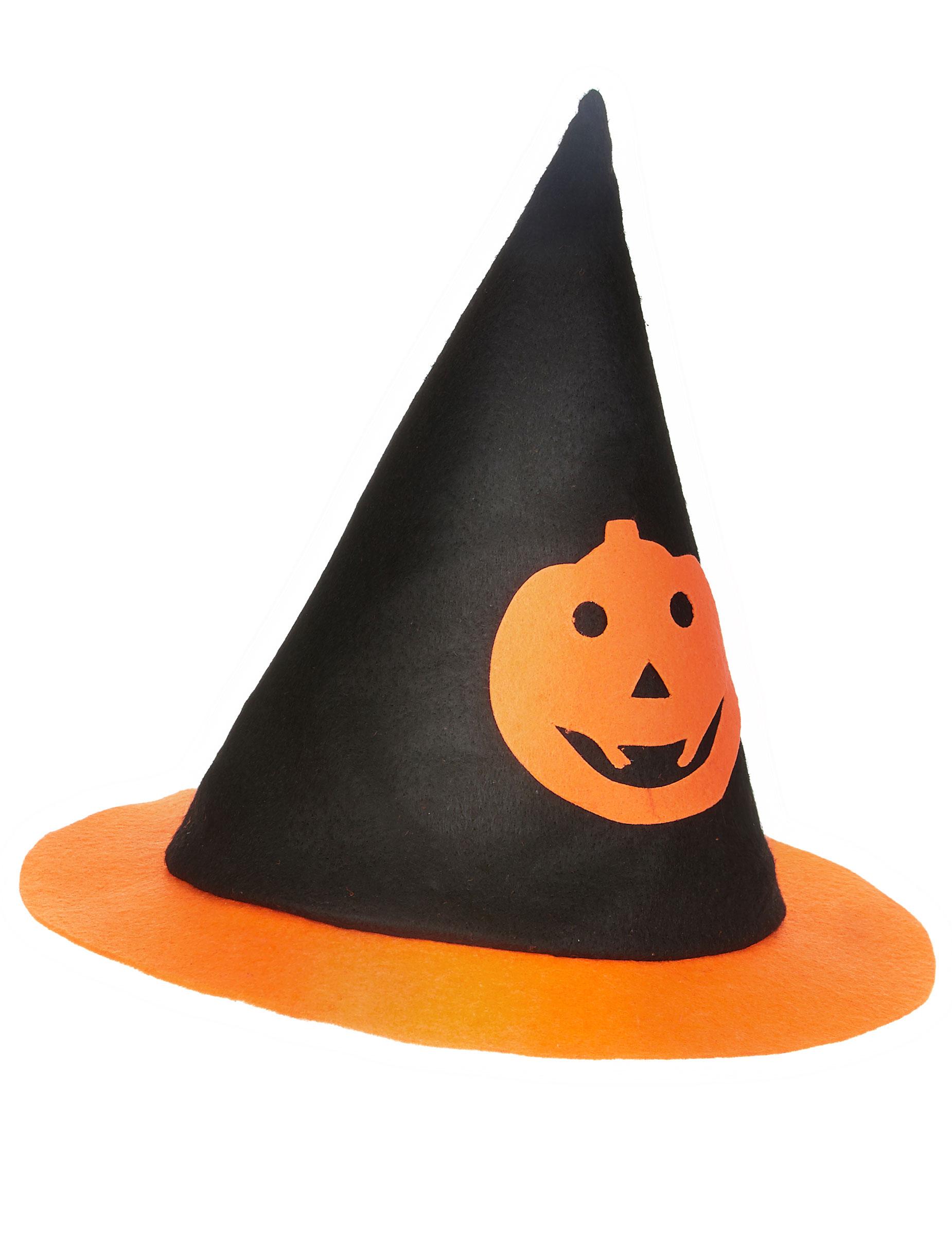 Chapeau sorci re citrouille enfant halloween d coration anniversaire et f tes th me sur - Image de sorciere ...
