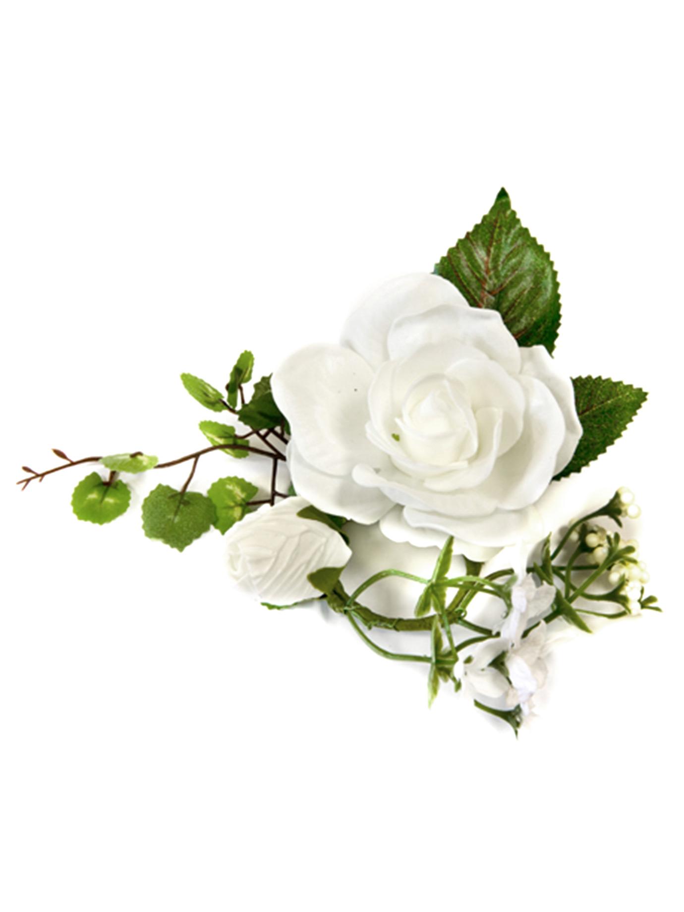 petite composition fleurs artificielles blanches d coration anniversaire et f tes th me sur. Black Bedroom Furniture Sets. Home Design Ideas