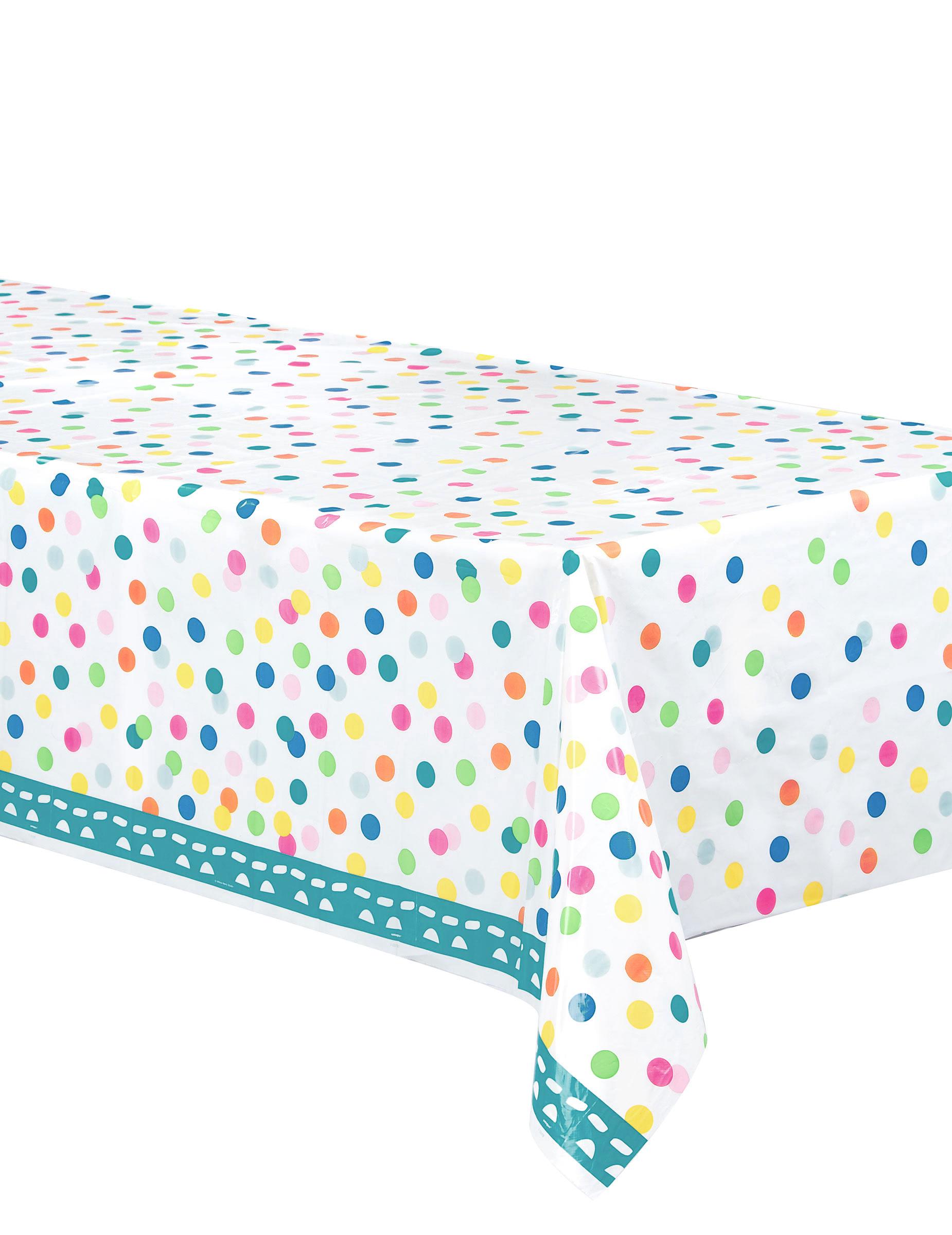nappe plastique happy birthday turquoise d coration anniversaire et f tes th me sur vegaoo party. Black Bedroom Furniture Sets. Home Design Ideas