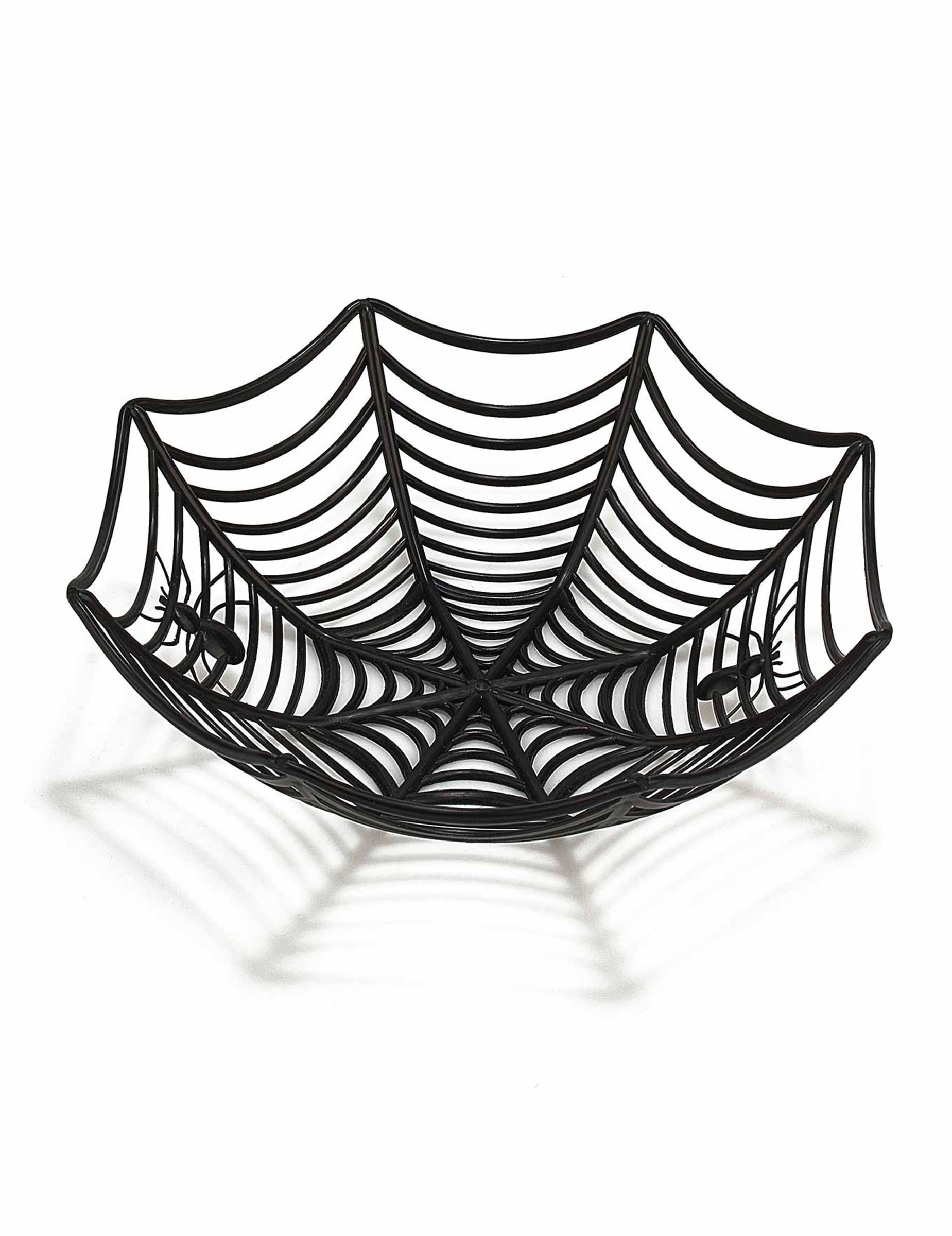 saladier toile d 39 araign e 27 cm halloween d coration. Black Bedroom Furniture Sets. Home Design Ideas