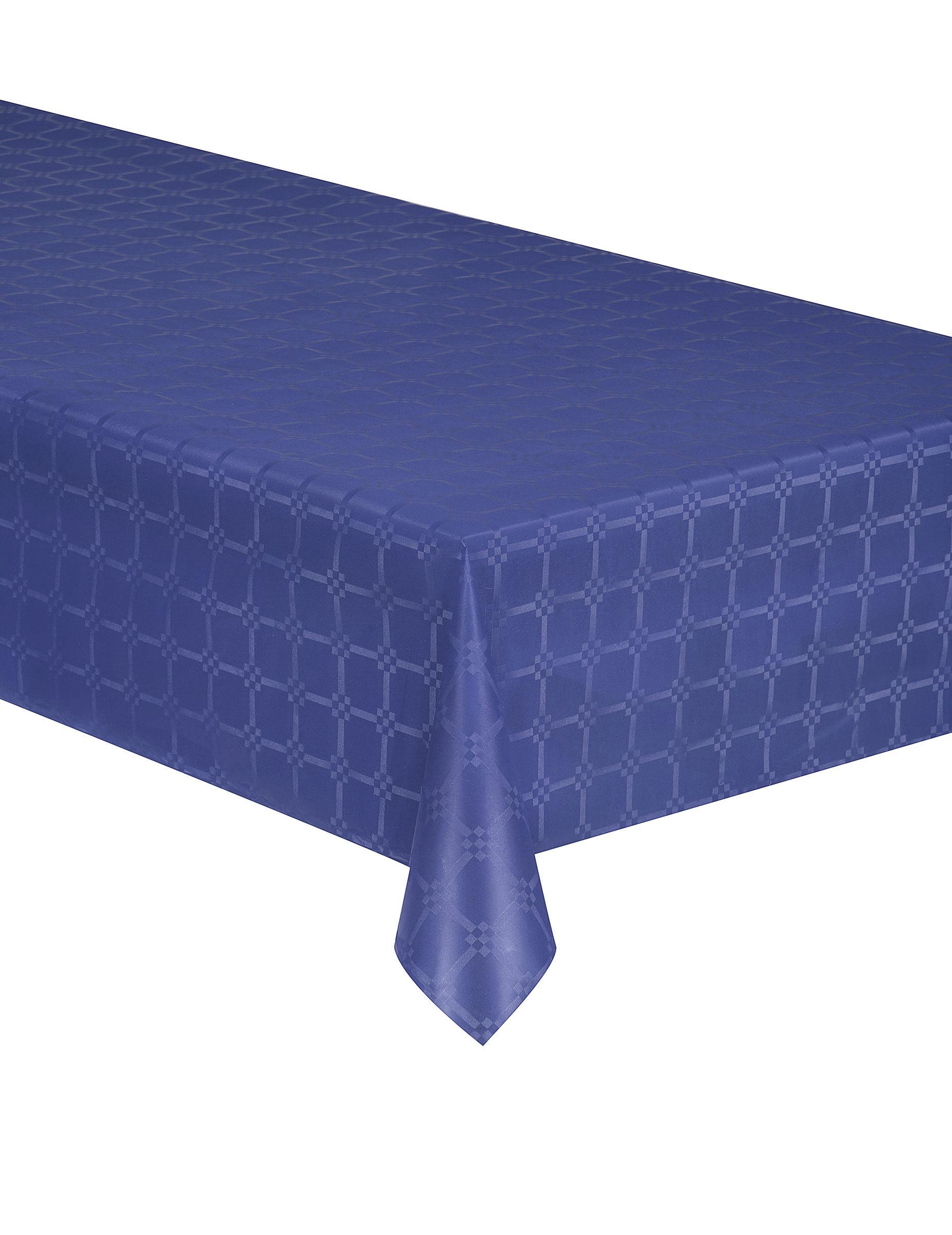 nappe en rouleau papier damass bleu marine 6 m tres d coration anniversaire et f tes th me. Black Bedroom Furniture Sets. Home Design Ideas