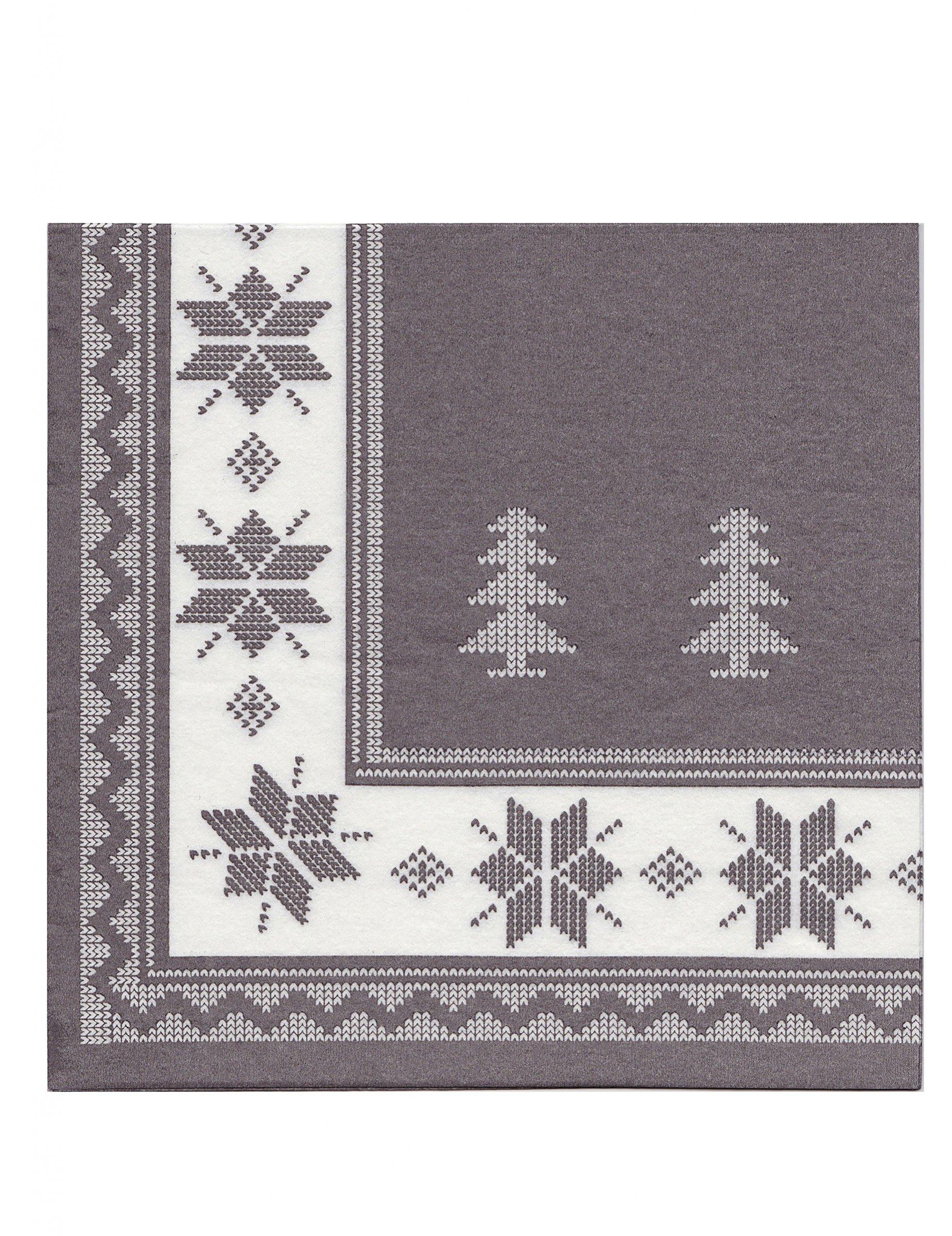 12 serviettes en papier intiss premium taupe 40 x 40 cm d coration anniversaire et f tes. Black Bedroom Furniture Sets. Home Design Ideas