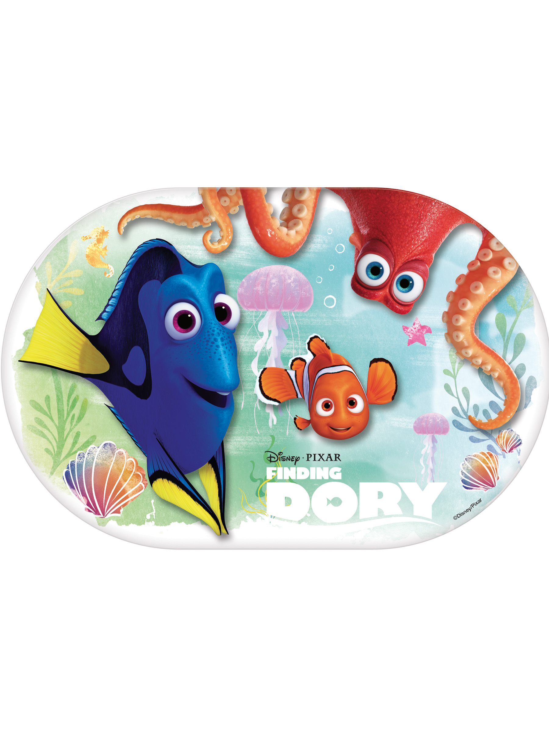 Set de table plastique le monde de dory d coration for Set de table plastifie