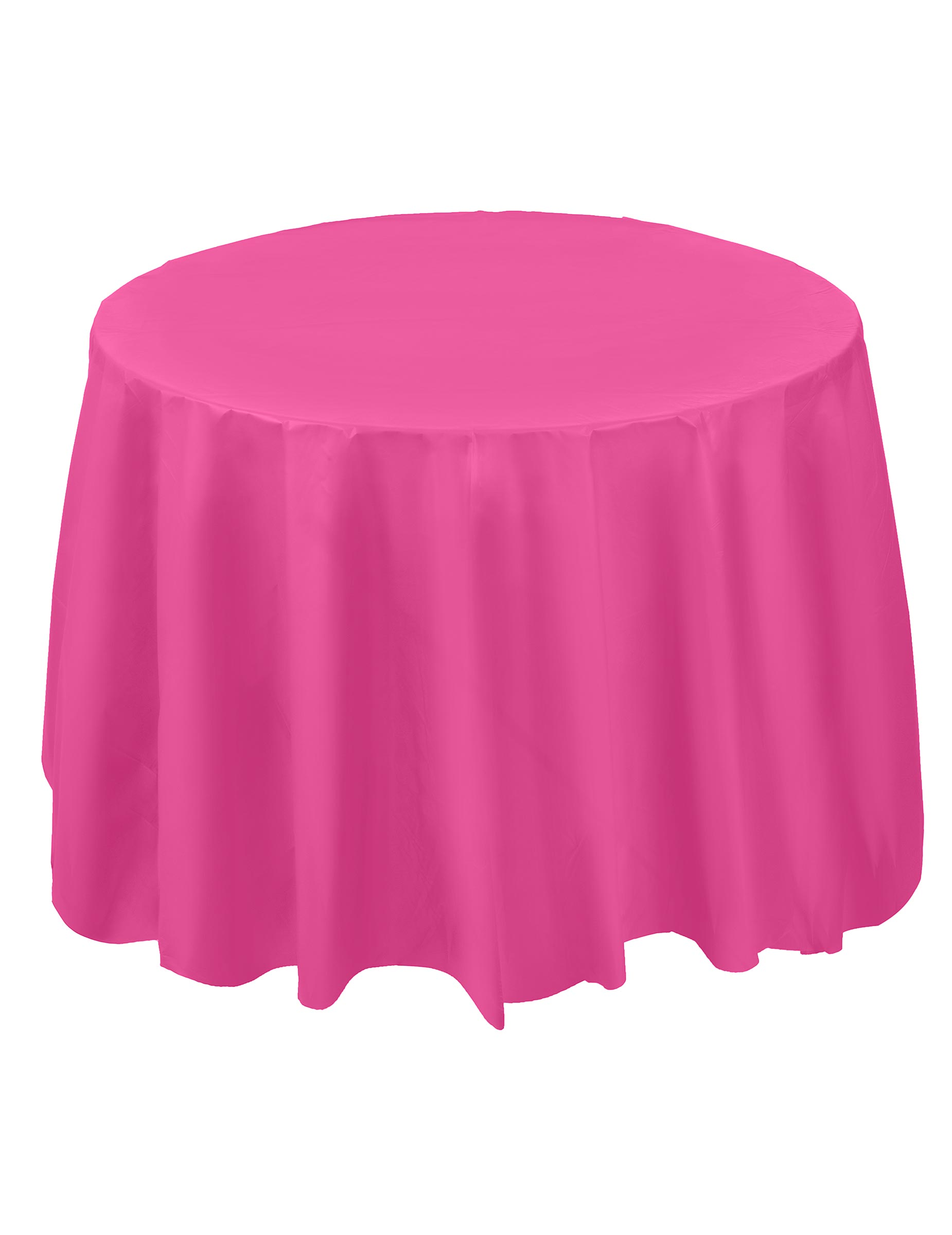nappe plastique ronde rose fuchsia 213 cm d coration. Black Bedroom Furniture Sets. Home Design Ideas